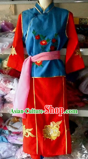 Traditional Chinese Dragon Dancer Outfit for Kids