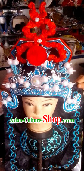 Chinese Peking Opera Wusheng Hat