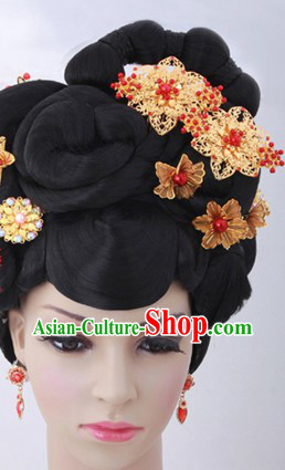 Traditional Asian Empress Wig