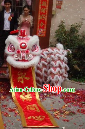 Friendly Top Chinese Wedding Lion Dance Costumes Complete Set