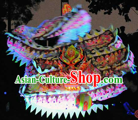 World Luminous Dragon Dance Championships Costumes Complete Set