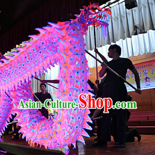 World Luminous Kung Fu Dragon Dance Championship Costumes Complete Set