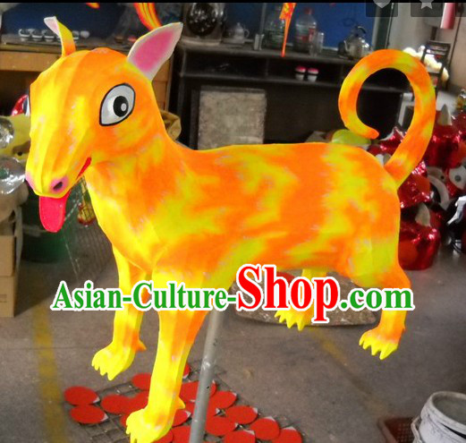 Handmade Dog Year Display of Chinese New Year Sheng Xiao
