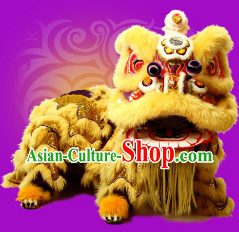 Classic Southern Lion Dance Costume Complete Set