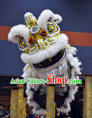 Professional International Lion Dance Competition Costumes Complete Set