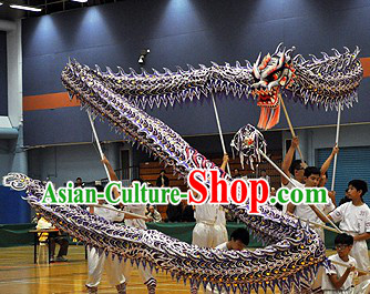 University Students Illuminated Dragon Dance Costumes Complete Set