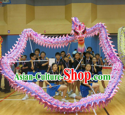 Elementary School Students Luminous Dragon Dance Equipment Complete Set