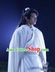 Ancient Chinese Swordsman Kung Fu Costumes for Men