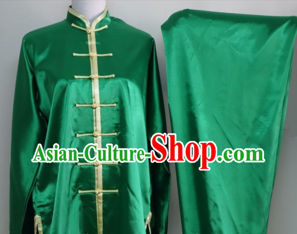 Professional Silk Competition and Practice Martial Arts Uniforms