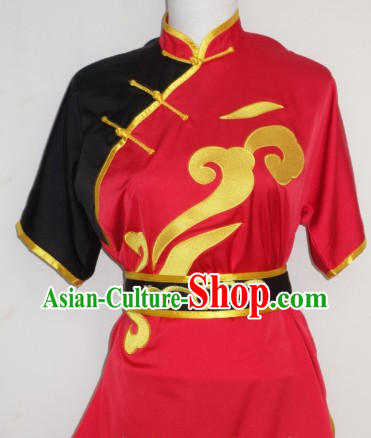 Mandarin Collar Kung Fu Dress Shirt Pants Uniform Complete Set