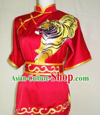 Chinese Traditional Dragon Dance Kung Fu Uniform Complete Set