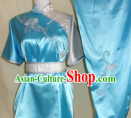 Traditional Chinese Tai Chi and Kung Fu Silk Clothing