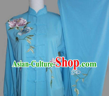 Kung Fu Uniform: Traditional Style Silk Long Sleeve