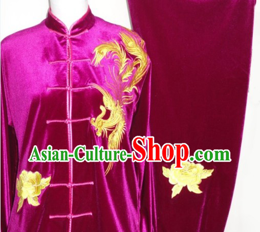 Winter Wushu Training and Competition Dresses