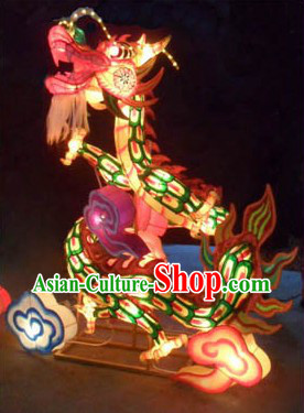 Handmade Dragon Dance LED Arts and Crafts for Display