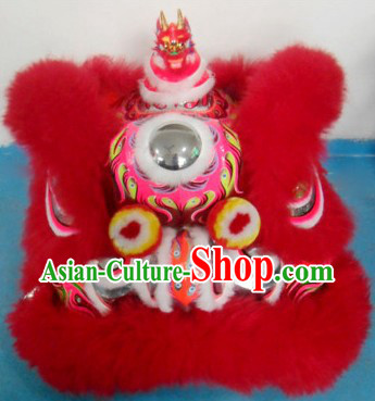 Supreme Lion Dance Costumes Complete Set with Handmade Dragon Head on the Top