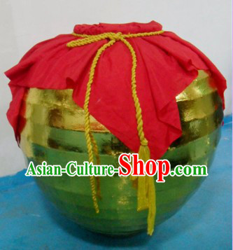 Professional Lion Dance Performance Wine Jar Props