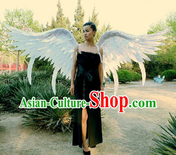 Professional Stage Performance or Car Show Model Long Angel Wings
