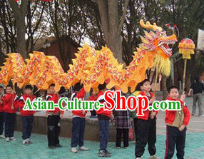 Dragon Dance Costumes Complete Set for Eight Students