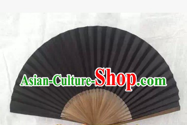 Chinese Opera Hua Dan Black Fan