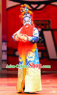 Traditional Chinese Peking Opera Hero Costumes for Kids