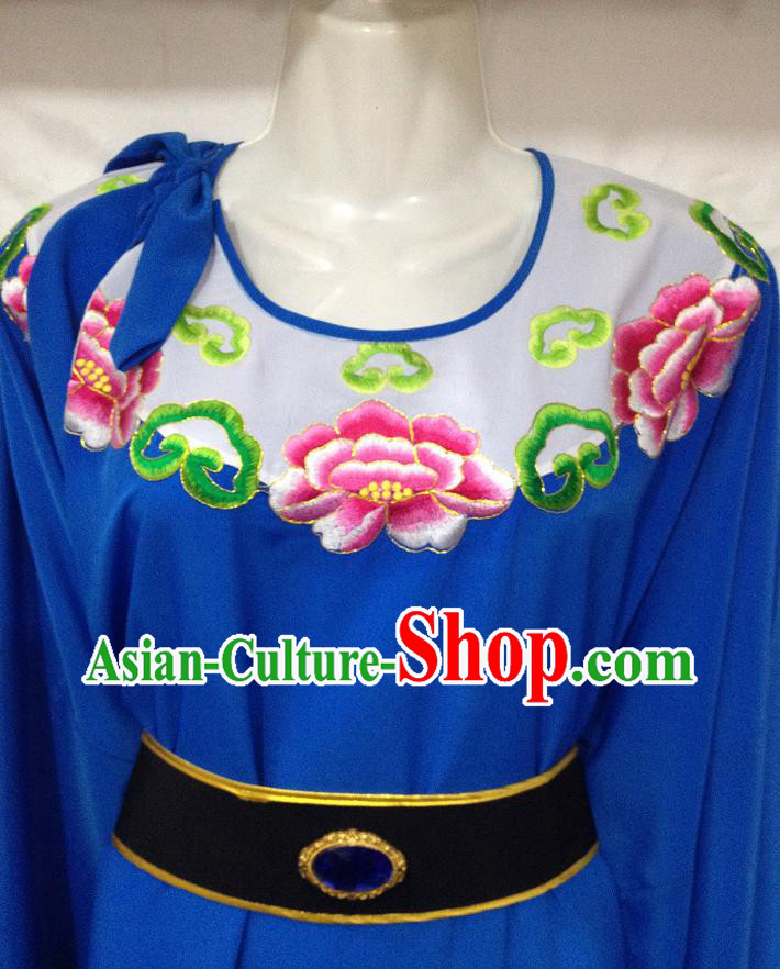 Ancient Chinese Round Collar Handsome Men Clothes