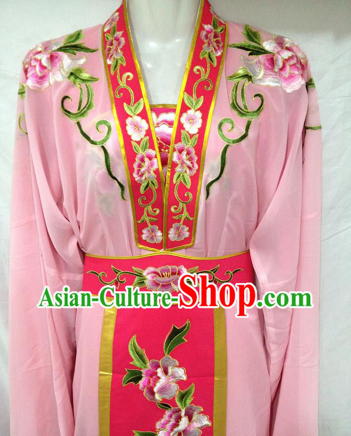 Ancient Chinese Pink Female Dresses