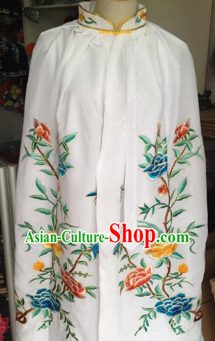 Chinese Shaosing Opera High Collar Mantle