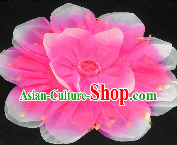 Handmade Flower Dance Handkerchief