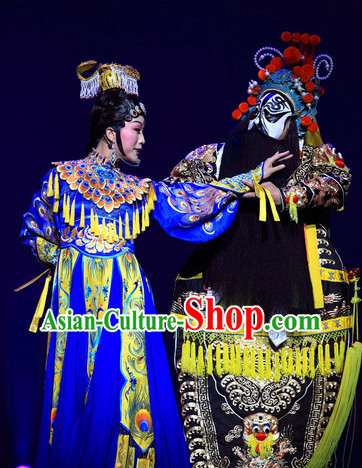 Ancient Chinese Yu Ji Empress Stage Performance Dresses