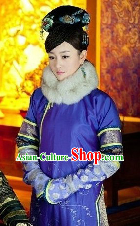 The Imperial Princess Clothing of Qing Dynasty