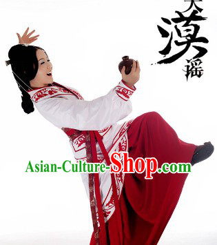Ancient China Border Areas Princess Han Clothing Complete Set