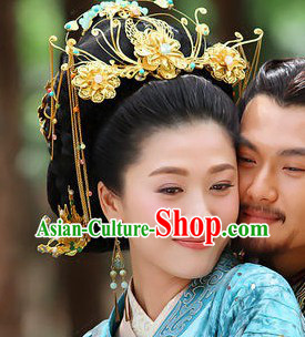 Ancient Chinese Imperial Empress Phoenix Hair Accessories Set