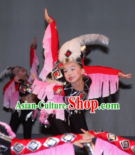 Eagle Novelty Dance Costumes and Headwear for Kids