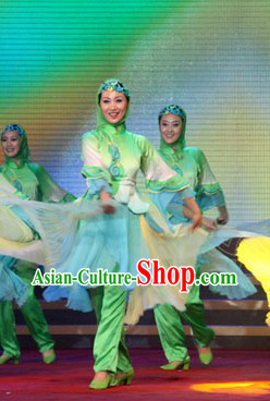 Xinjiang Hui Dance Costumes for Both Student and Professional Dancers