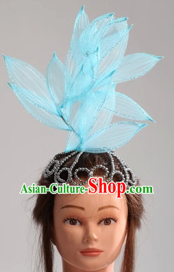 Traditional Chinese Yangge Dance Headpiece