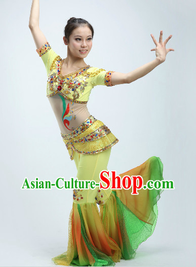 Feitian Flying Apsaras Dance Costumes Complete Set for Women