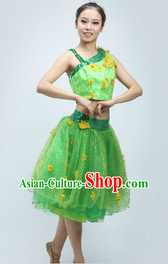 Sunflower Dancing Costumes for Women