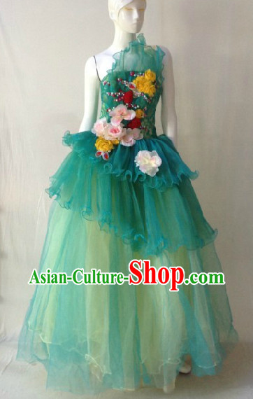 Professional Stage Performance Eveing Dress