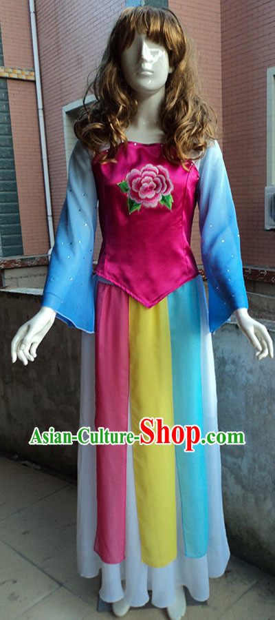 Classical Dancing Stage Performance Dance Costumes for Women
