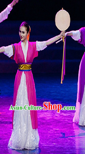 Traditional Chinese Ethnic Dance Costumes for Women