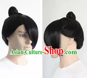 Ancient Chinese Style Swordsman Wig