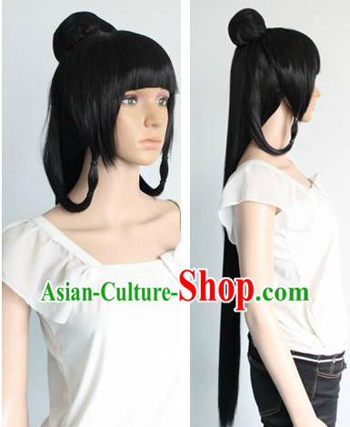 Ancient Chinese Style Beauty Long Wig