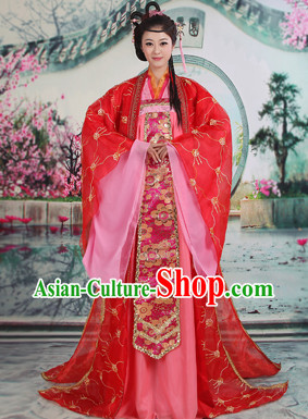 Ancient Chinese Hanfu Clothes for Beauties