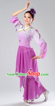 Chinese Classic Fan Dancing Dresses for Women