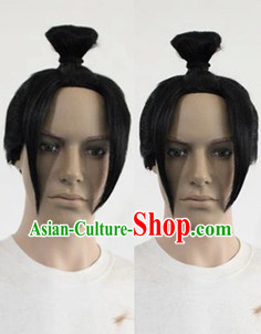 Ancient Chinese Style Swordsman Wig for Men