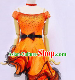 New Design High-quality Latin Dancing Costumes for Professional Dancer