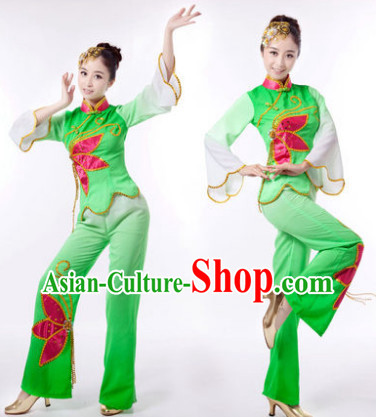 Traditional Chinese Clothing for School Competition Stage Performance Dancing