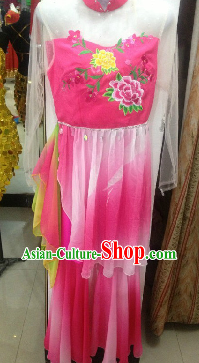 Professional Custom Make Stage Performance Waist Drum Dance Costumes