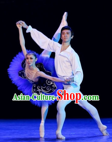 Traditional Chinese Recital Ballet Dance Tutu Costumes for Women